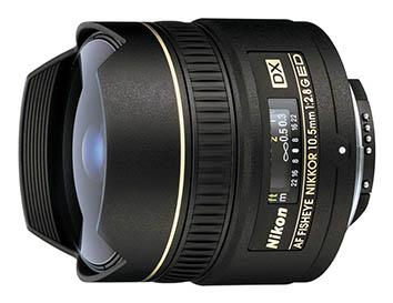 Nikon 10.5mm f/2.8G AF DX ED Fisheye
