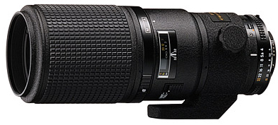 Nikon 200mm f/4D AF Micro ED