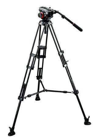Manfrotto 546 Tripod Legs with 504HDV Head