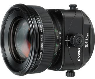 Canon TS-E 45mm f/2.8 Tilt-Shift