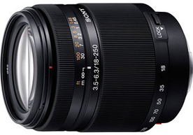 Sony 18-250mm f/3.5-6.3