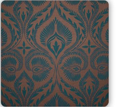 drop it MODERN Peacock Backdrop 9x18 ft