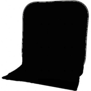 Impact Collapsible Backdrop 8x16 ft Black