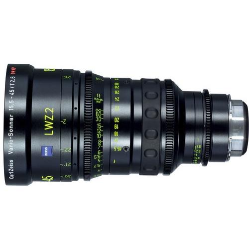 Zeiss LWZ.2 Lightweight 15.5-45mm T2.6 Zoom EF Mount