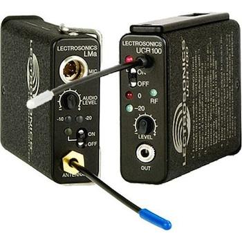 Lectrosonics 100 Series Wireless UHF Lavalier Mic Set (Freq Block 25)