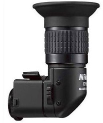 Nikon DR-5 Right Angle Viewfinder for Round Eyepiece Cameras