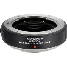 Olympus MMF-2 Four Thirds to Micro 4/3 Lens Adapter