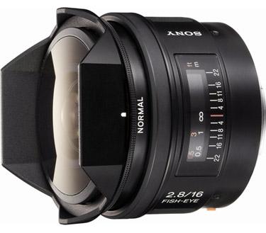 Sony SAL- 16mm f/2.8 Fisheye