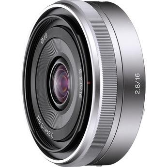 Sony E-Mount 16mm f/2.8