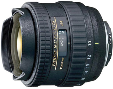 Tokina 10-17mm f/3.5-4.5 DX Fisheye for Nikon