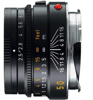 Leica 50mm f/2.5 Summarit-M Manual Focus Lens