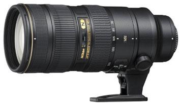 Nikon 70-200mm f/2.8G AF-S ED VR II