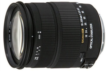 Sigma 18-200mm f/3.5-6.3 DC for Canon
