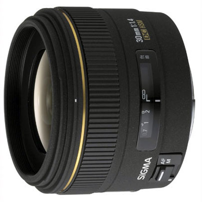 Sigma 30mm f/1.4 EX DC HSM for Canon
