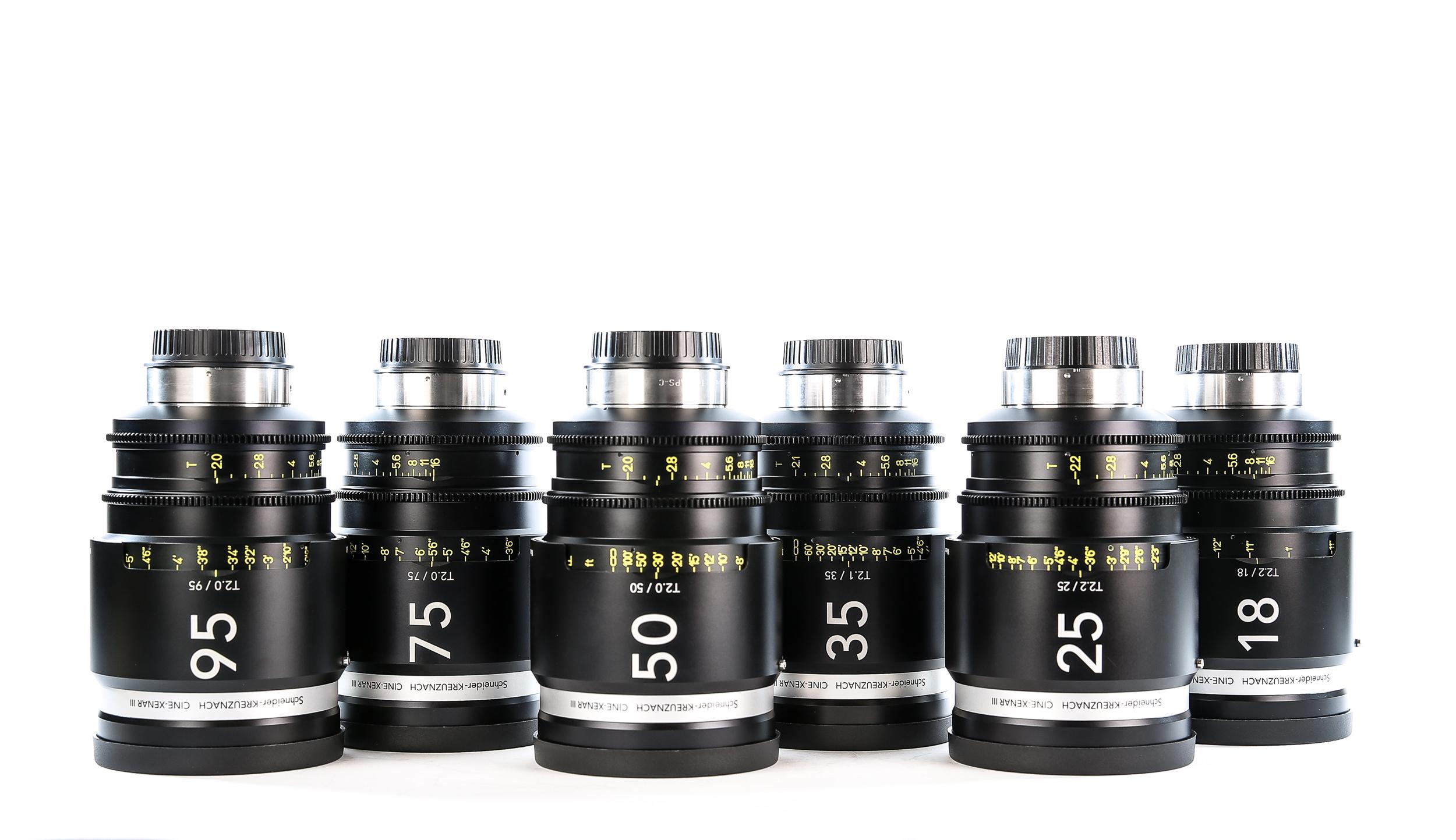 Schneider Cine-Xenar III Cinema Lens Set (EF Mount)