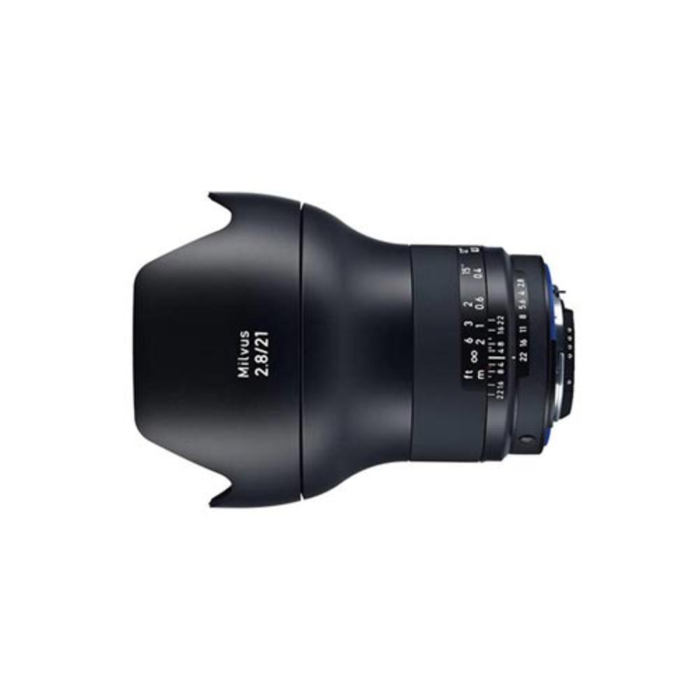 Rent a Zeiss Milvus 21mm f/2 8 ZF 2 Lens for Nikon F Mount