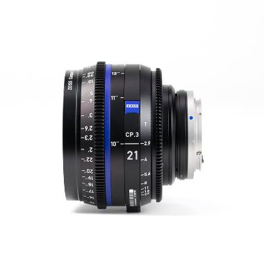 Zeiss CP.3 21mm T2.9 Lens for Canon EF Mount