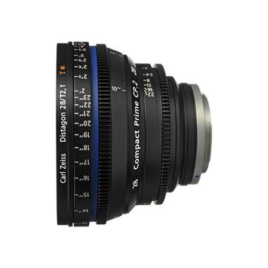 Zeiss Compact Prime CP.2 28mm/T2.1 EF Canon Mount