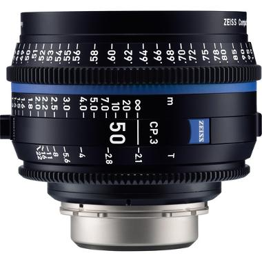 Zeiss CP.3 50mm T2.1 Lens for PL Mount