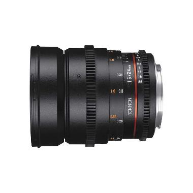 Rokinon 24mm T1.5 DS Cine EF Mount Lens