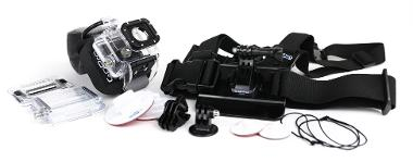 GoPro HERO3 Body/Boards Mount Package