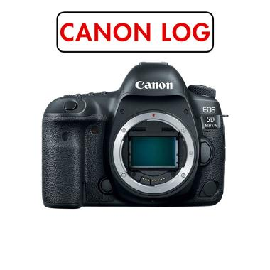 Canon 5D Mark IV with Canon Log