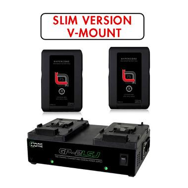 Core SWX HyperCore SLIM RED V-Mount Battery Kit