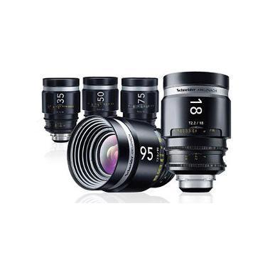 Schneider Cine-Xenar III EF Mount Cinema Lens Set