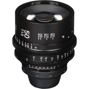 Sigma 50mm T1.5 E Mount Cine Lens