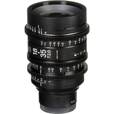 Sigma 18-35mm T2 Cine High Speed Zoom EF Mount Lens