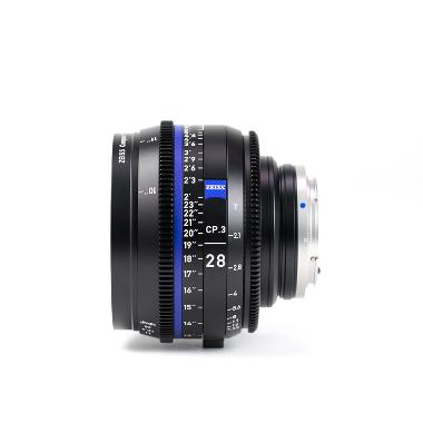 Zeiss CP.3 28mm T2.1 Lens for Canon EF Mount