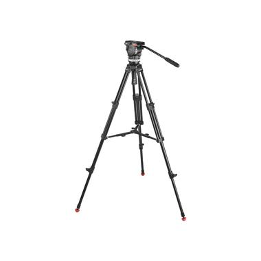 Sachtler Ace M Fluid Head with 2-Stage Aluminum Tripod & Mid-Level Spreader