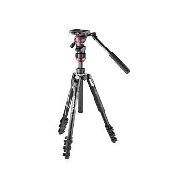 Manfrotto Befree Live Video Lever-Lock Tripod Kit