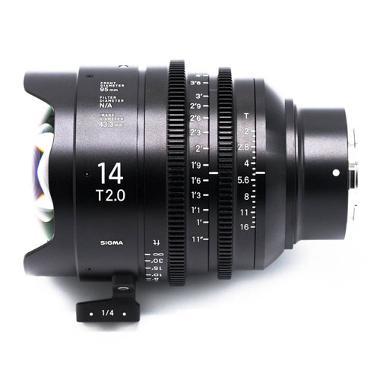 Sigma 14mm T2 Cine E Mount