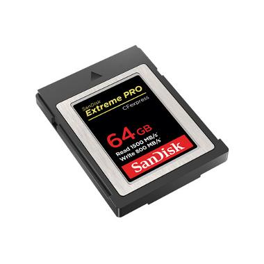 SanDisk 64GB Extreme Pro CFexpress Memory Card Type B