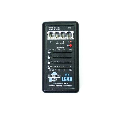 White Lightning LG4X Four-Channel Wired Remote Control