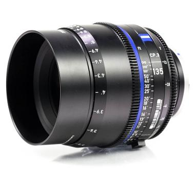 Zeiss CP.3 135mm T2.1 Lens for Canon EF Mount