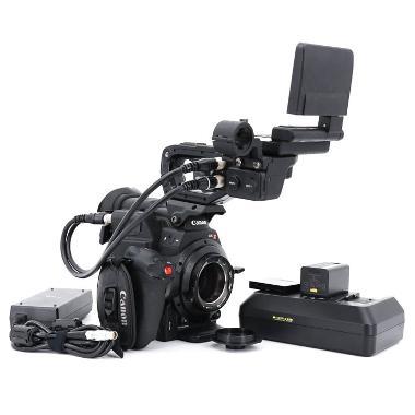 Canon C300 Mark II PL Mount Cinema Camera with Dual Pixel CMOS AF