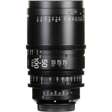 Sigma 50-100mm T2 E Mount Cine Lens