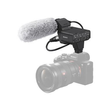 Sony XLR-K3M XLR Audio Adapter with Shotgun Microphone
