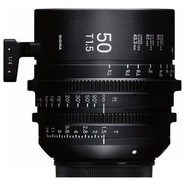 Sigma 50mm T1.5 EF Mount Cine Lens