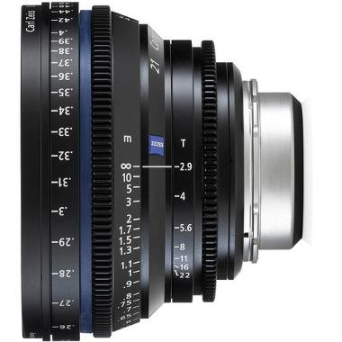 Zeiss Compact Prime CP.2 21mm/T2.9 Micro 4/3 Mount