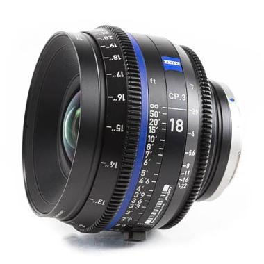 Zeiss CP.3 18mm T2.9 Lens for Canon EF Mount