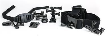 GoPro Camera Helmet/Bike Mount Package