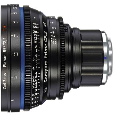 Zeiss Compact Prime CP.2 85mm/T2.1 Micro 4/3 Mount