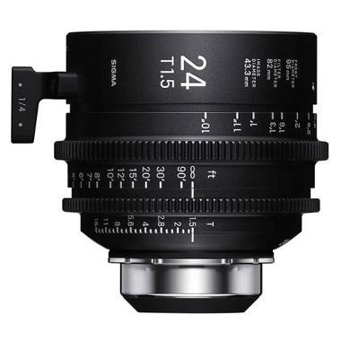 Sigma 24mm T1.5 Cine PL Mount