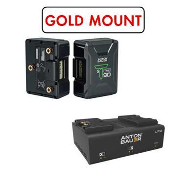 Anton Bauer Titon 90 Gold Mount Battery Kit
