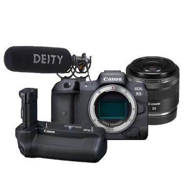 Canon EOS R5 Video/Photo Wedding Kit