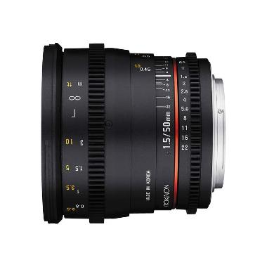 Rokinon 50mm T1.5 DS Cine EF Mount Lens