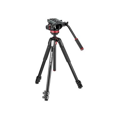 Manfrotto 502AH Head and MT055XPRO3 Tripod Kit